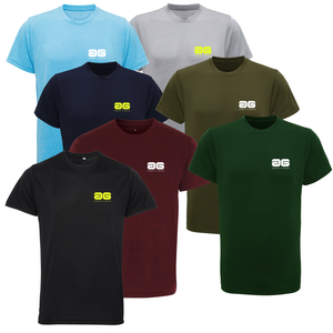 Adonis & Grace Training Slim Fit T Shirt Running Gym Top Olive-Custom Teamwear
