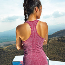 Load image into Gallery viewer, Tri Dri Womens Seamless 3D Vest Sports Top Pink-Custom Teamwear
