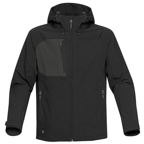 StormTech Sindwinder Softshell Jacket ST165 Black-Custom Teamwear