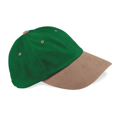 Beechfield Low Profile Brushed Forest Gump Cap - BrandClearance