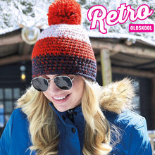 Load image into Gallery viewer, Retro OldsKool Freestyle Ski Winter Bobble Hat - BrandClearance