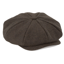 Load image into Gallery viewer, Beechfield Peaky Blinder Style Cap Brown BC628-Custom Teamwear