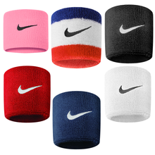 Load image into Gallery viewer, Nike Swoosh Sports Sweat Wristbands NK280 Black-Custom Teamwear