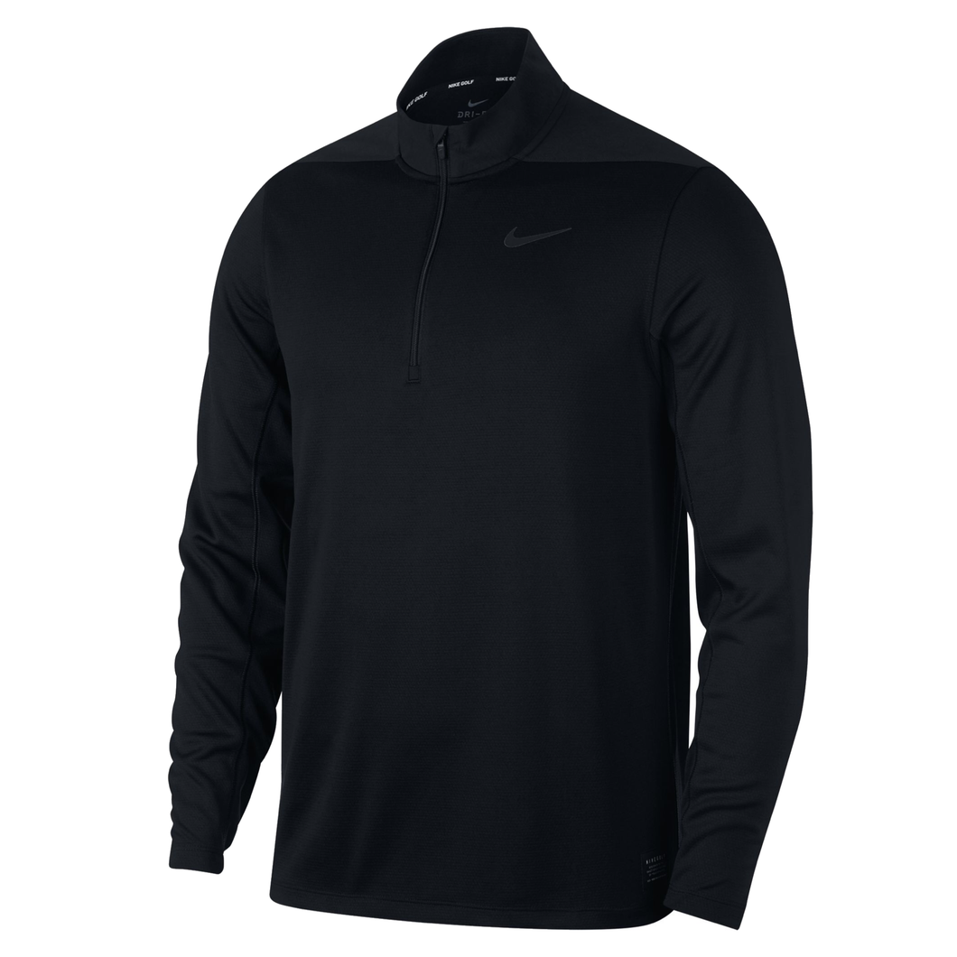 Nike Half Zip Golf Core Jacket NK312 Black