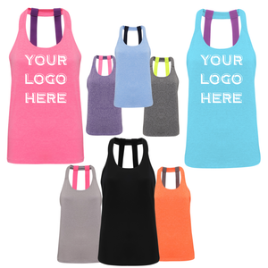 Tri Dri Double Strap Training Yoga Vest TR028 PRINTED