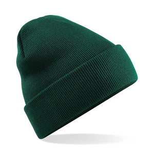 Beechfield Apparel Original Style Cuffed Beanie BC045 Bottle Green-Custom Teamwear