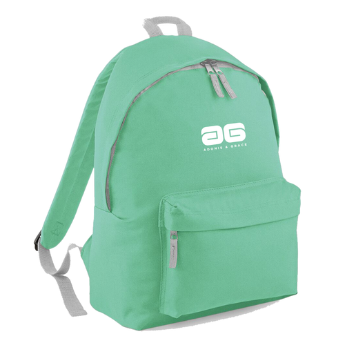 Adonis & Grace Ladies Original Fashion Backpack Mint Green