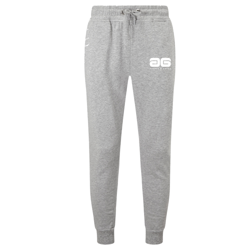 Adonis & Grace Slim Fit Mens Training Jog Pants Grey-Custom Teamwear