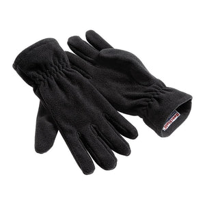 Beechfield Suprafleece Alpine Style Winter Gloves Black - BrandClearance