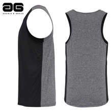 Load image into Gallery viewer, Adonis & Grace Cool Performance Contrast Vest Black