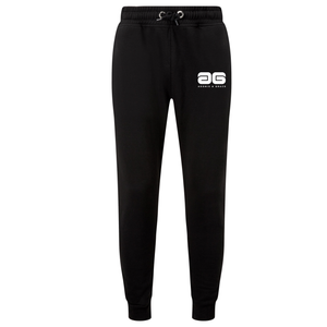 Adonis & Grace Slim Fit Mens Training Jog Pants Black-Custom Teamwear