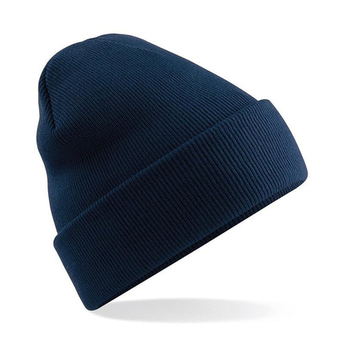 Beechfield Apparel Original Style Cuffed Beanie BC045 French Navy-Custom Teamwear
