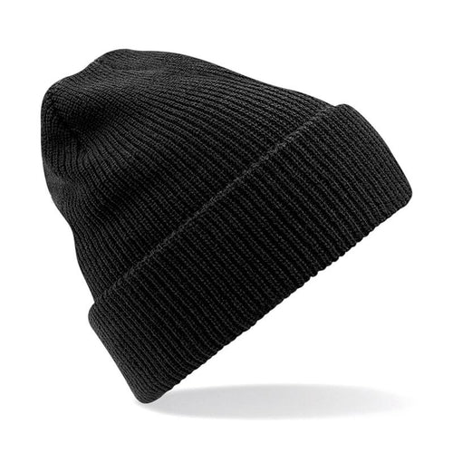 STREET Apparel Heritage Style Beanie Marl Hat-Hat-stREET Apparel-Black-BrandClearance