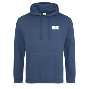 Adonis & Grace College Hoodie Original Fashion Airforce Blue-Custom Teamwear