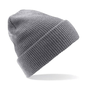 STREET Apparel Heritage Style Beanie Marl Hat-Hat-stREET Apparel-Grey-BrandClearance