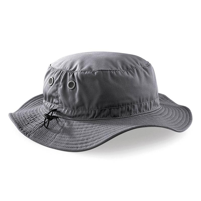 Beechfield Cargo Bucket Outdoor Hat BC088 Graphite-Custom Teamwear
