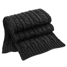 Load image into Gallery viewer, Adonis & Grace Luxury Cable Knit Melange Scarf-Custom Teamwear