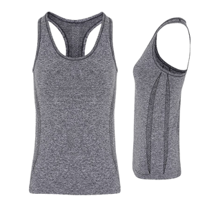 Tri Dri Womens Seamless 3D Vest Sports Top - BrandClearance