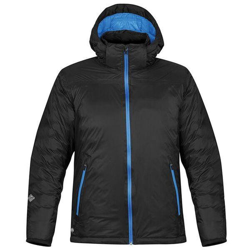 StormTech Black Ice Thermal Winter Jacket Black/ Royal - BrandClearance