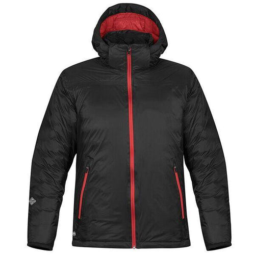 StormTech Black Ice Thermal Winter Jacket Black Red ST168-Custom Teamwear