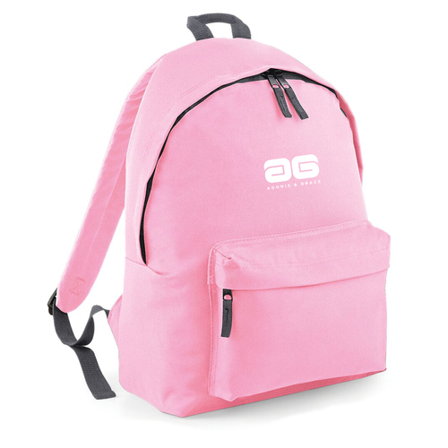 Adonis & Grace Ladies Original Fashion Backpack Classic Pink