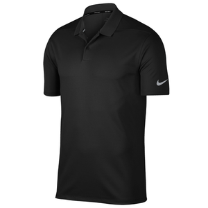 Nike Dri Fit Victory Polo Solid NK263 Black Tennis Golf