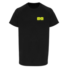 Load image into Gallery viewer, Adonis & Grace Mens Embossed Training T-Shirt Black-Custom Teamwear