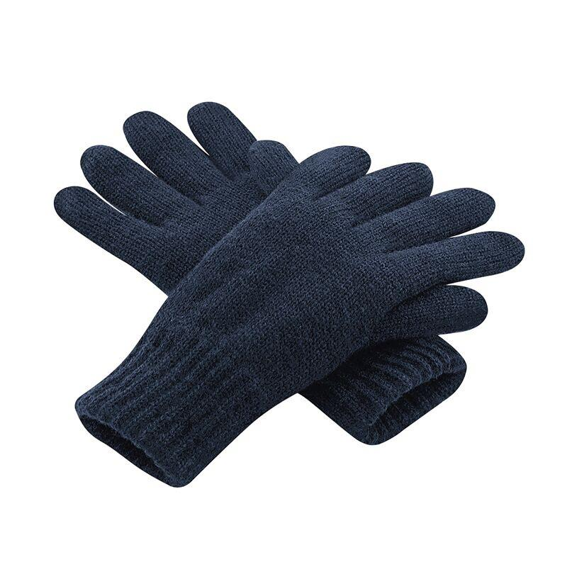 Adonis & Grace Thinsulate Winter Thermal Gloves Navy - BrandClearance