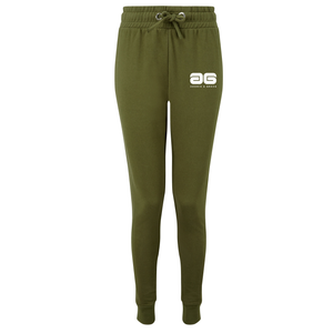Adonis & Grace Fitted Slim Joggers Olive-Custom Teamwear