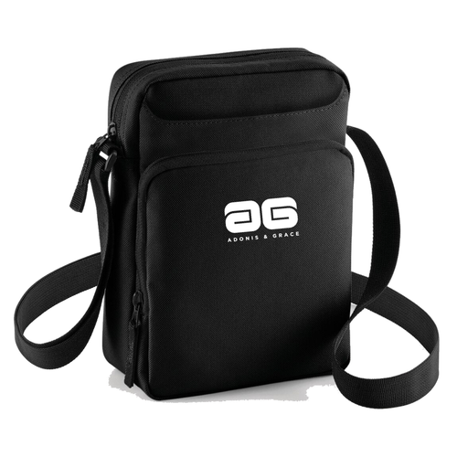 Adonis & Grace Across Body Carry Bag Black