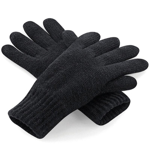 Adonis & Grace Thinsulate Winter Thermal Gloves Black - BrandClearance