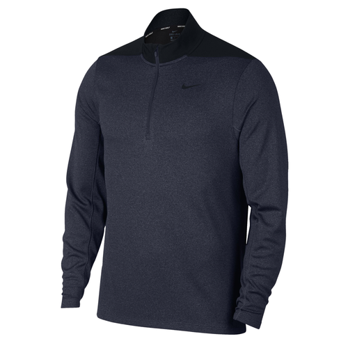 Nike Half Zip Golf Core Jacket NK312 Navy-Custom Teamwear