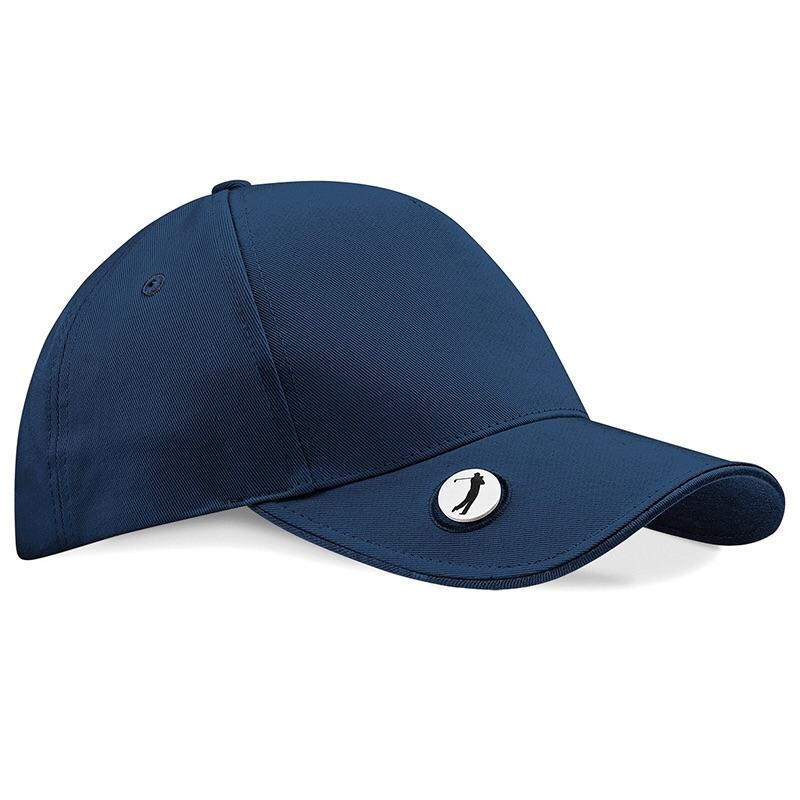 Beechfield Pro Style Golf Cap with Marker BC185 Navy-Custom Teamwear