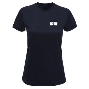 Adonis & Grace Technical Training T Shirt French Navy-Custom Teamwear