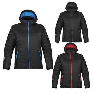 StormTech Black Ice Thermal Winter Jacket Black Blue ST168