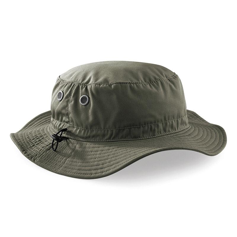 Beechfield Cargo Bucket Outdoor Hat BC088 Olive-Custom Teamwear