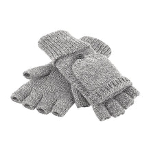 Load image into Gallery viewer, Rural Apparel Fliptop Winter Gloves Grey - BrandClearance