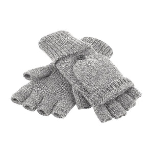 Rural Apparel Fliptop Winter Gloves Grey - BrandClearance