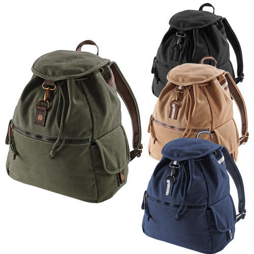 Adonis & Grace Vintage Canvas Backpack