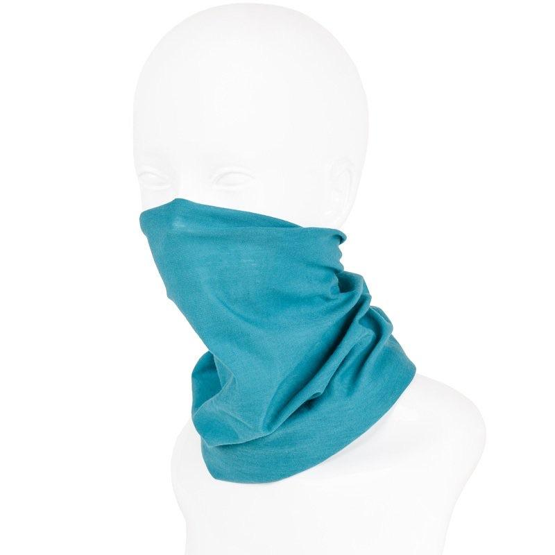 Adonis & Grace Snood Face Covering Teal-Custom Teamwear