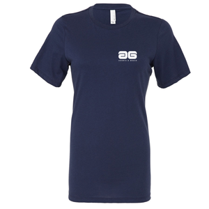 Adonis & Grace Womens Relaxed Summer T-Shirt Navy