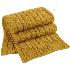 Adonis & Grace Luxury Cable Knit Melange Scarf
