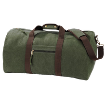 Load image into Gallery viewer, Adonis & Grace Luxury Vintage Canvas Holdall-Custom Teamwear