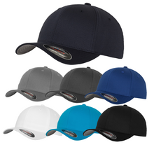 Load image into Gallery viewer, Flexfit Fitted Baseball Cap by Yupoong YP004 Sapphire Blue-Custom Teamwear