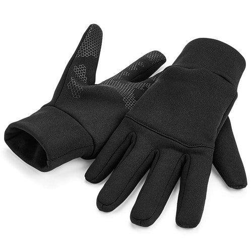 Beechfield Softshell Sports Gym Technical Glove - BrandClearance