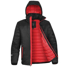 Load image into Gallery viewer, StormTech Black Ice Thermal Winter Jacket Black Red ST168-Custom Teamwear