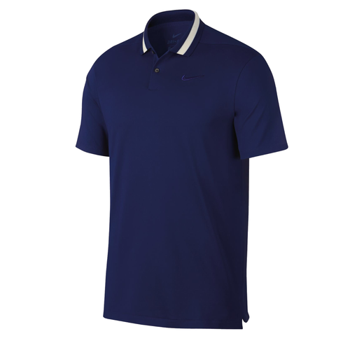 Nike Dri Vapor Mens Golf Polo NK310 Navy Golf