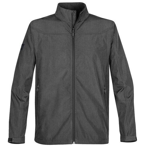 StormTech Endurance Softshell Jacket ST161 Carbon Heather-Custom Teamwear