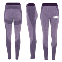 Load image into Gallery viewer, Adonis & Grace Ladies Seamless 3D Gym Leggings Purple