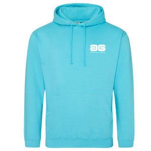 Adonis & Grace College Hoodie Original Fashion Turquoise